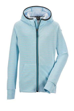 unisex outdoor vest Rodeny lichtblauw
