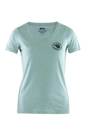 outdoor T-shirt lichtblauw