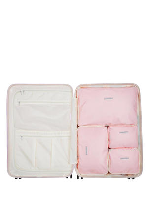 packing cubes Fabulous Fifties 76 cm. roze