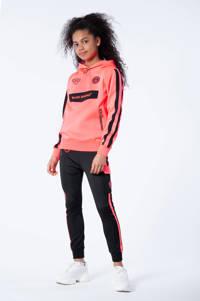 BLACK BANANAS unisex hoodie Anorak Match met logo roze, Roze