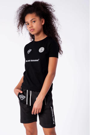 unisex T-shirt F.C. Basic met logo zwart
