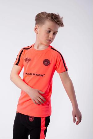unisex T-shirt F.C. Match met logo roze