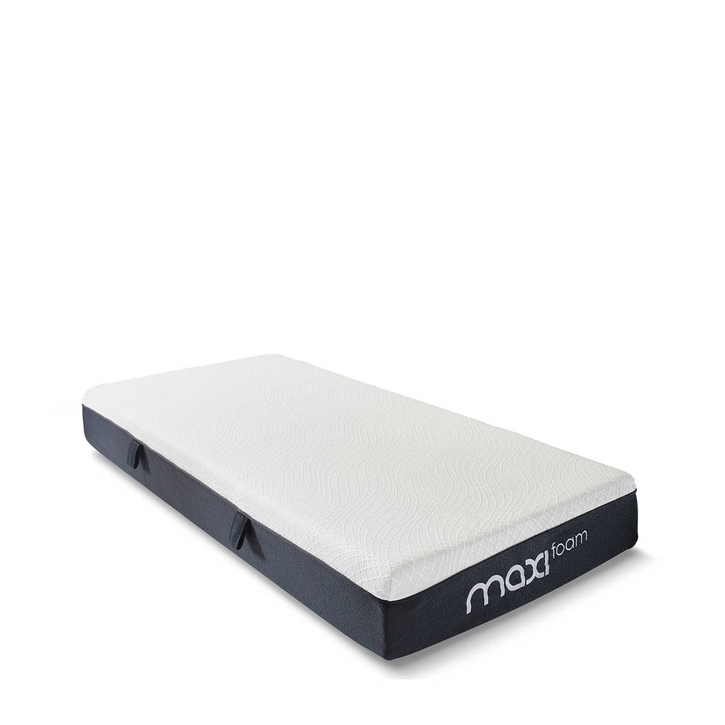 Maxi traagschuimmatras  matras Maxi Foam inclusief hoofdkussen(s) (90x220 cm), Wit
