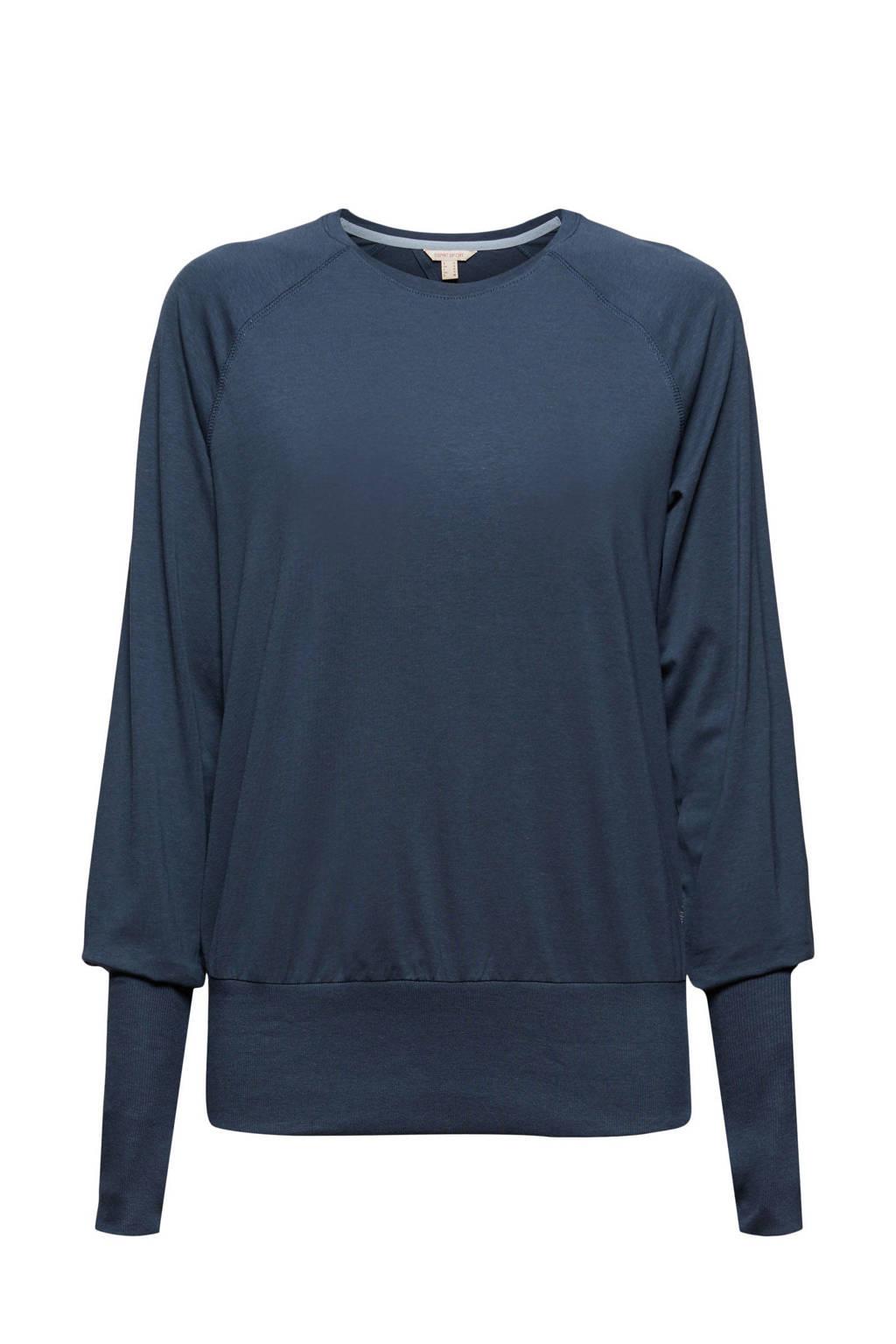 ESPRIT Women Sports sportshirt donkerblauw, Donkerblauw