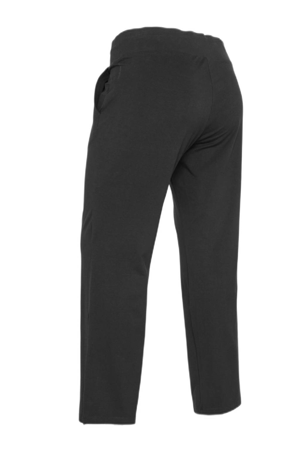 ESPRIT Women Sports Plus Size joggingbroek zwart, Zwart