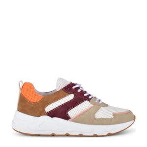 Minion  suède chunky sneakers beige/multi