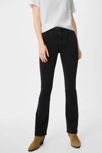 C&A The Denim flared jeans zwart, Zwart