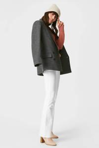 C&A The Denim high waist slim fit jeans wit, Wit