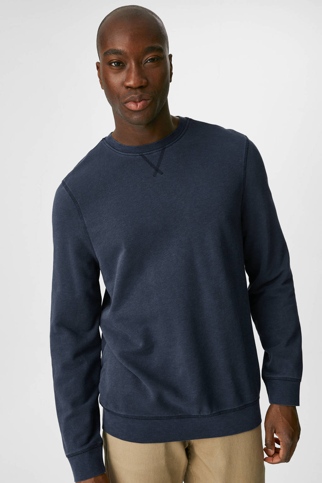 C&A sweater donkerblauw, Donkerblauw