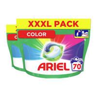 Ariel All-in-1 Pods Colour 2 x 70 Wasmiddel Pods - 140 wasbeurten