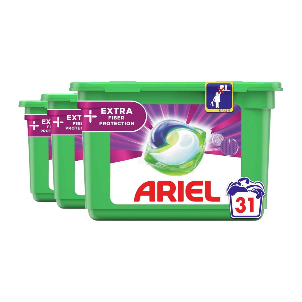 Ariel All-in-1 Pods + Vezelbescherming 3 x 31 Wasmiddel Pods - 93 wasbeurten