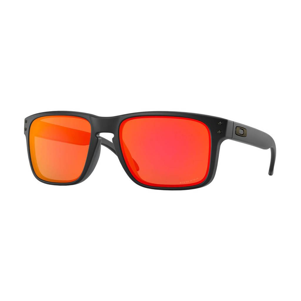 Oakley zonnebril Holbrook zwart/oranje