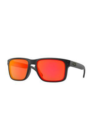 zonnebril Holbrook zwart/oranje