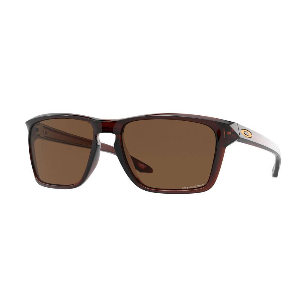 Oakley zonnebril Sylas donkerbruin