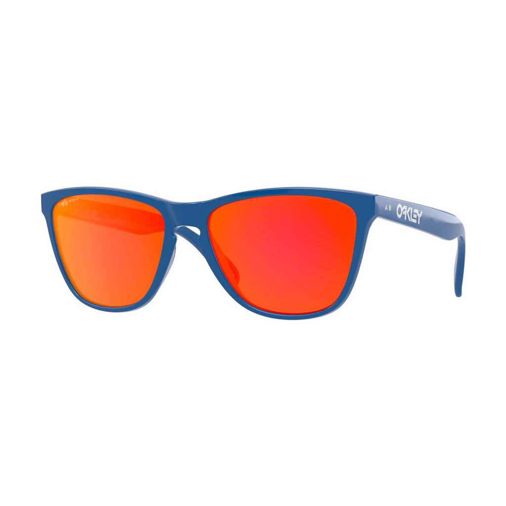 Oakley zonnebril Frogskins 35TH blauw/rood