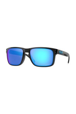 zonnebril Holbrook zwart/blauw