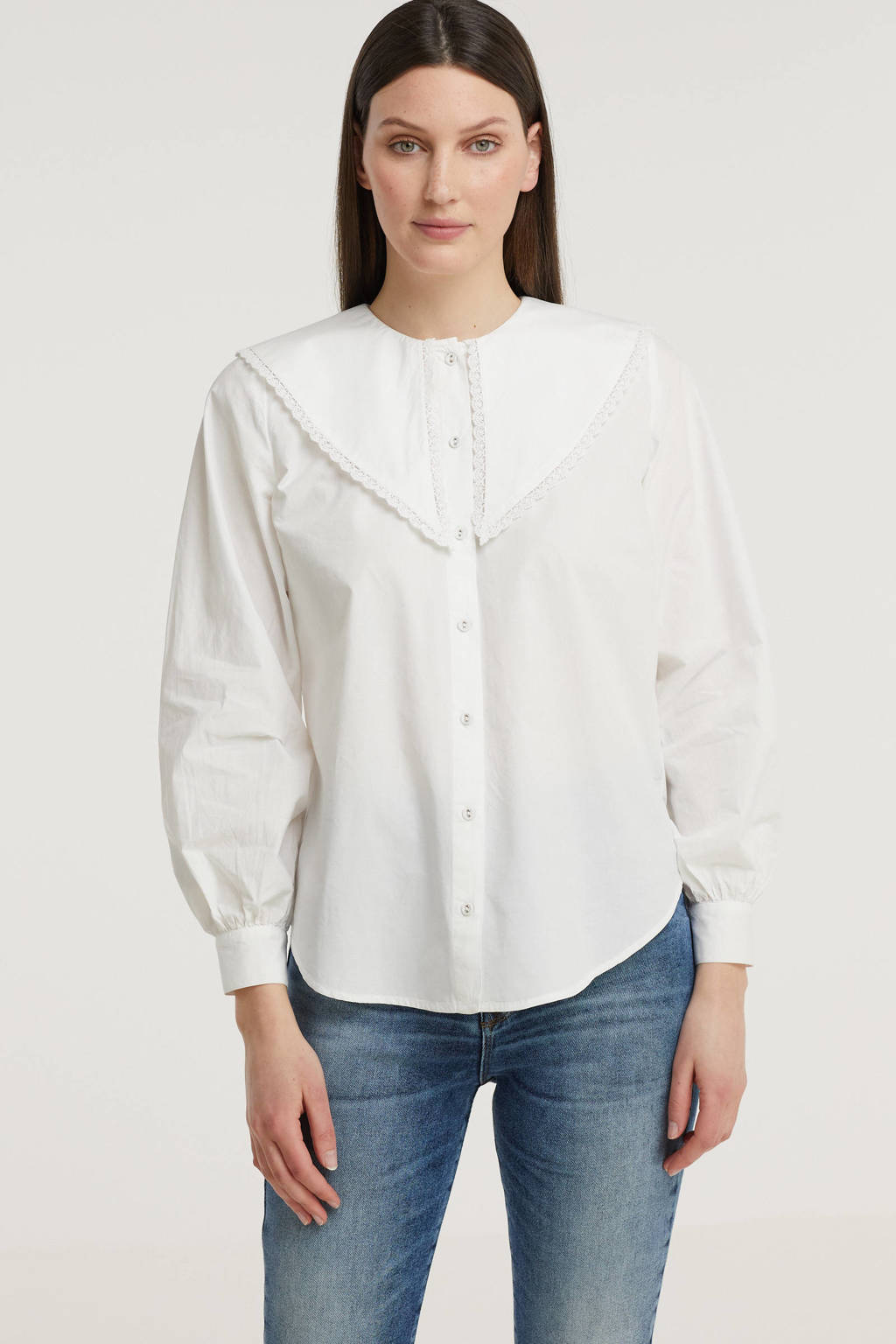 SisterS Point blouse wit, Wit