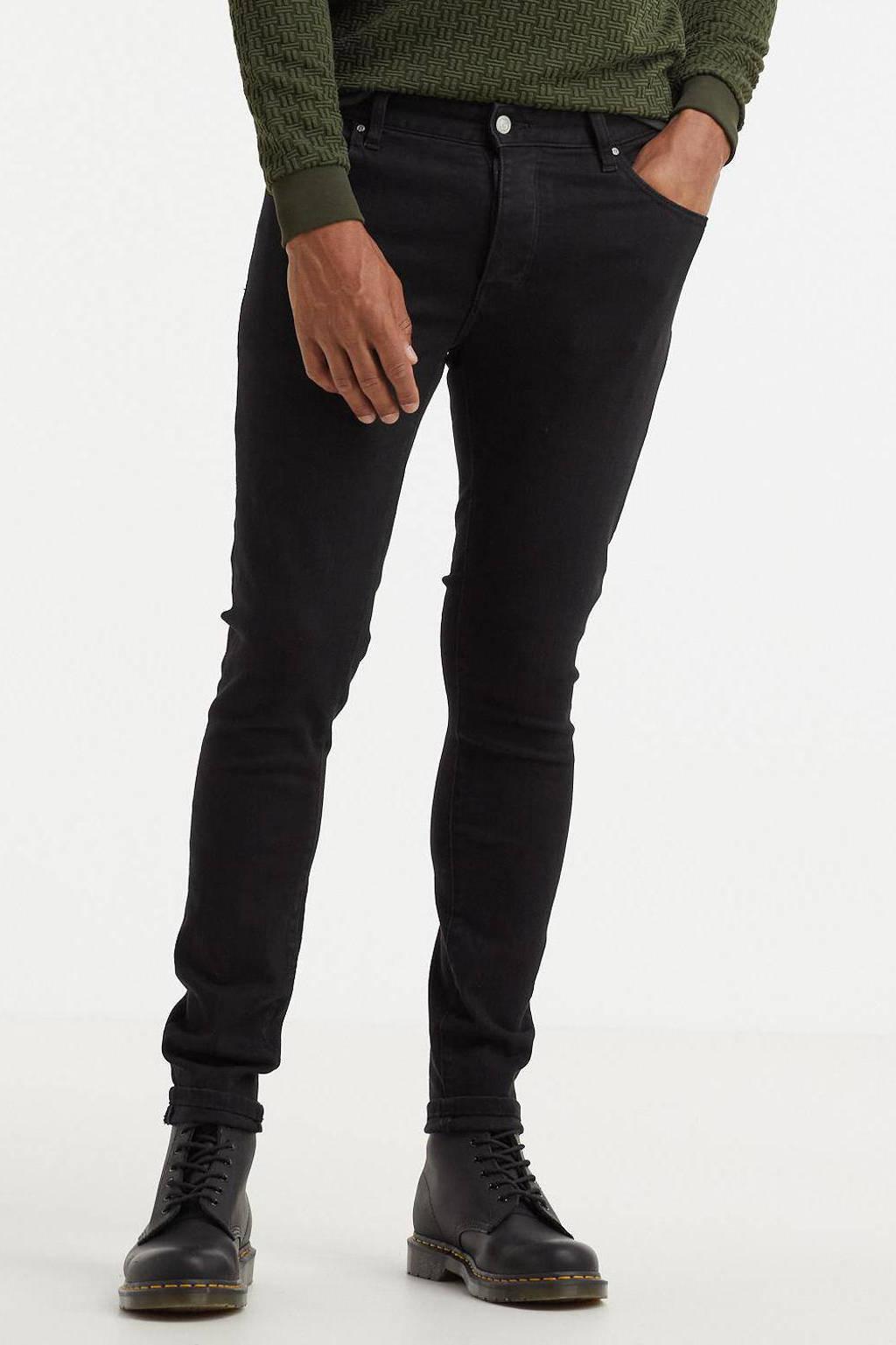 Raizzed super skinny jeans Jungle 04 black, 04 Black