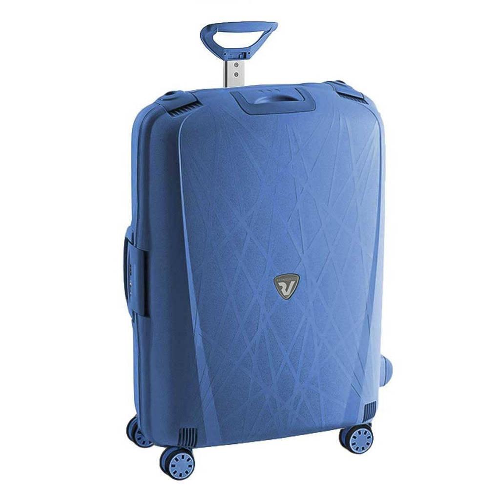 Roncato  trolley Light 75 cm. blauw, Blauw