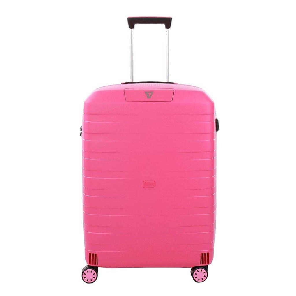 Roncato  trolley Box 2.0 Young Medium 69 cm. roze, Roze