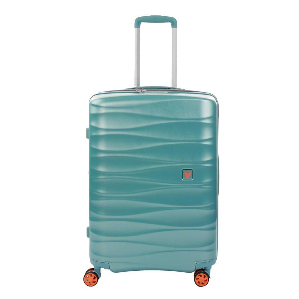 Roncato  trolley Stellar Medium Expandable blauw, Blauw