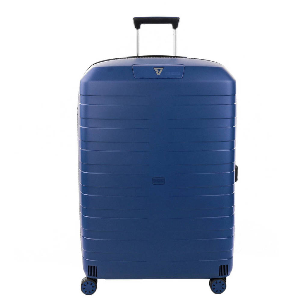 Roncato  trolley Box 4.0 Large 78 cm. donkerblauw, Donkerblauw