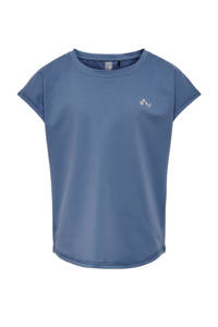 ONLY PLAY sport T-shirt ONPAUBREE blauw, Blauw