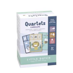 Kwartet dieren kaartspel