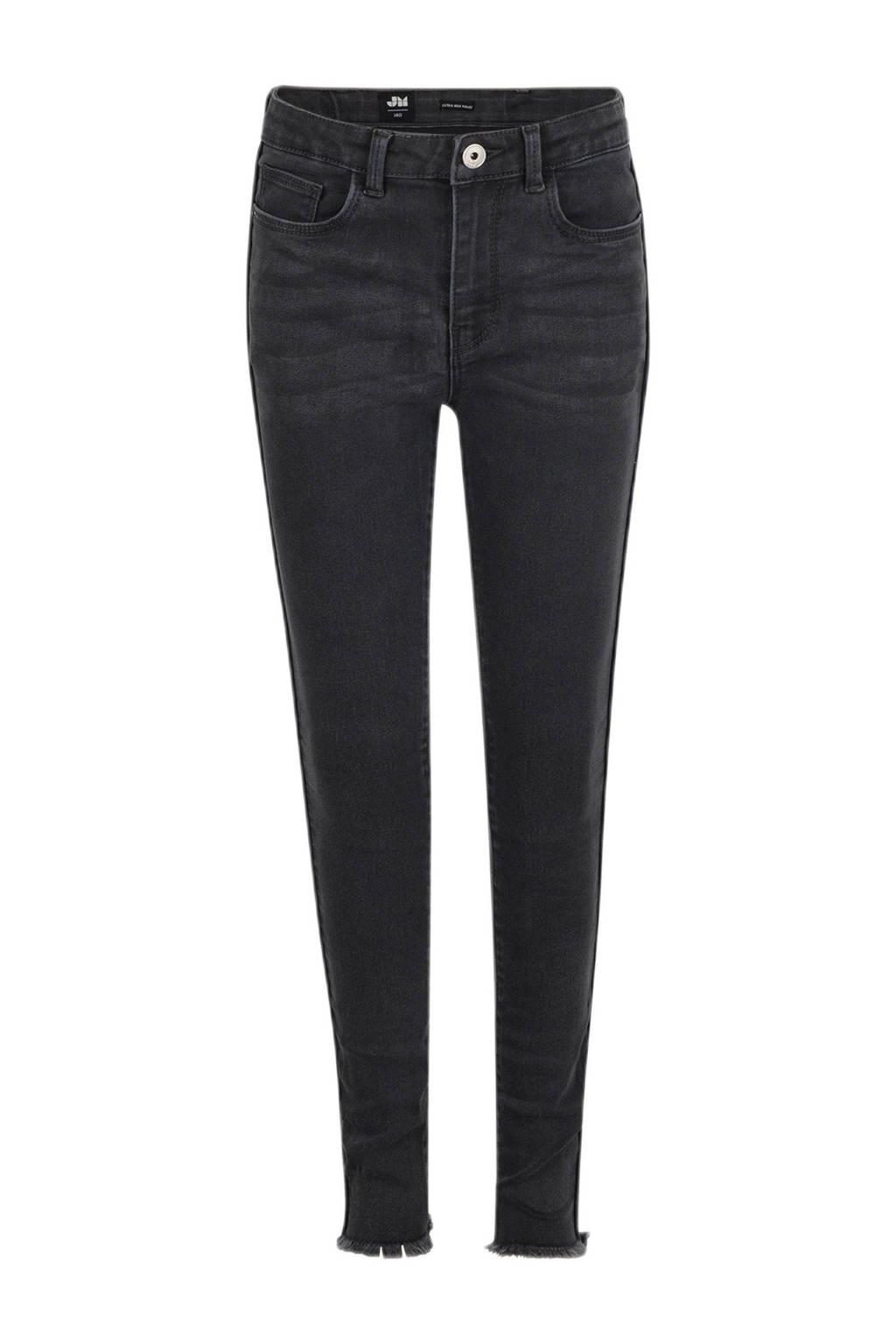 Shoeby Jill & Mitch skinny jeans Chrissy grijs stonewashed, Grijs stonewashed