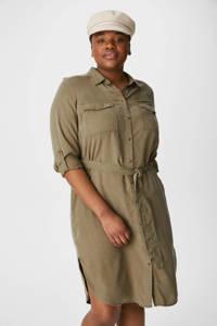 C&A XL Yessica blousejurk olijfgroen, Olijfgroen