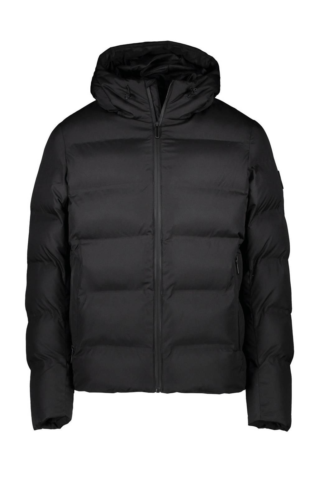 Cars  winterjas Sammy zwart, Zwart
