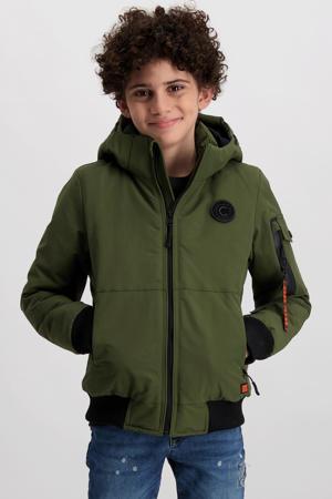 winterjas Bayham army groen