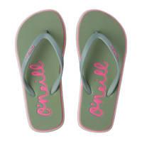 O'Neill Logo Sandals  teenslippers mintgroen, Mintgroen/Lily Pad