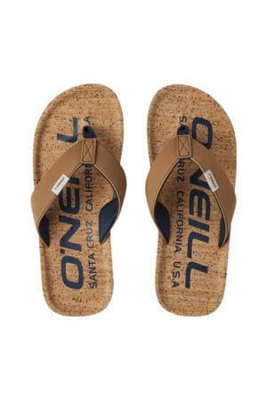 Chad Fabric Sandals  teenslippers bruin