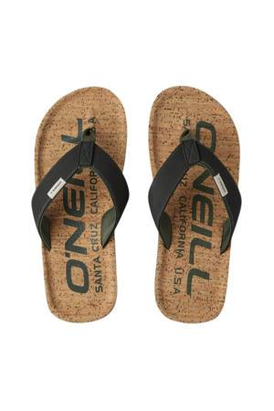Chad Fabric Sandals  teenslippers zwart