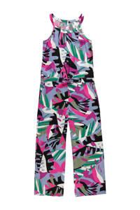 O'Neill jumpsuit met all over print paars/groen/blauw, Paars/groen/blauw