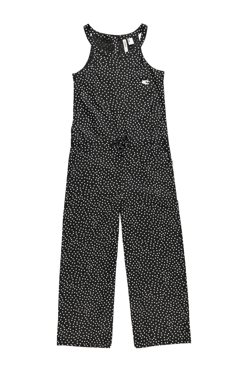 O'Neill jumpsuit met all over print zwart/wit, Zwart/wit