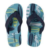 O'Neill Arch Print Sandals  teenslippers blauw, Blauw/geel
