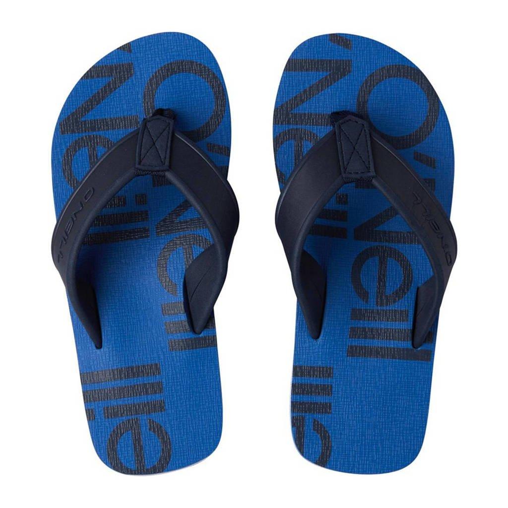 O'Neill Arch Print Sandals  teenslippers blauw, Blauw/donkerblauw