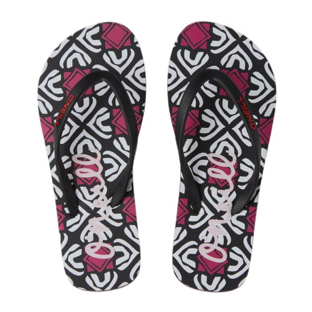 O'Neill Moya Sandals  teenslippers zwart/multi, Zwart/multi