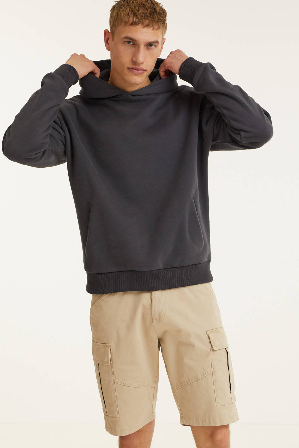 Comfort Studio by Kultivate hoodie zwart, Zwart