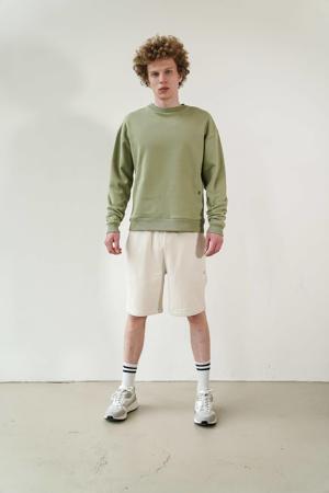 sweater oil green
