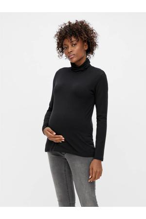 zwangerschapstop MLSIA met biologisch katoen zwart
