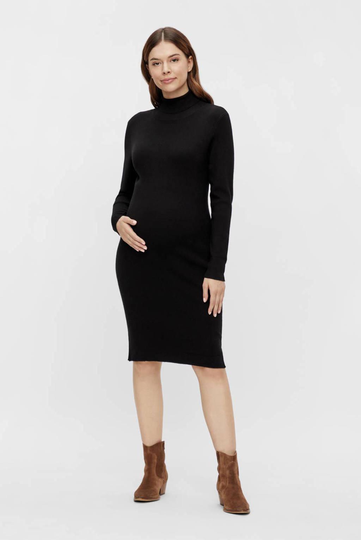 MAMALICIOUS zwangerschapsjurk MLJACINA zwart, Zwart