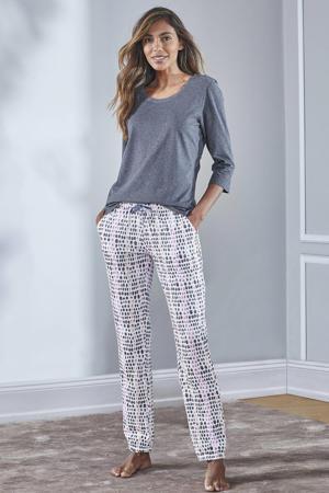 pyjamatop donkergrijs