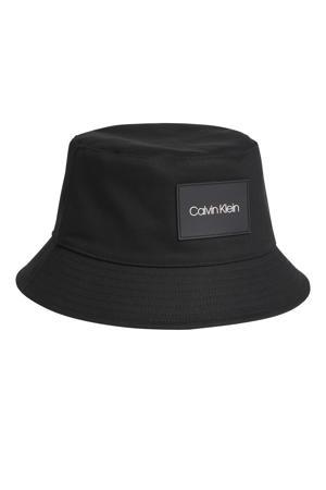 bucket hat zwart