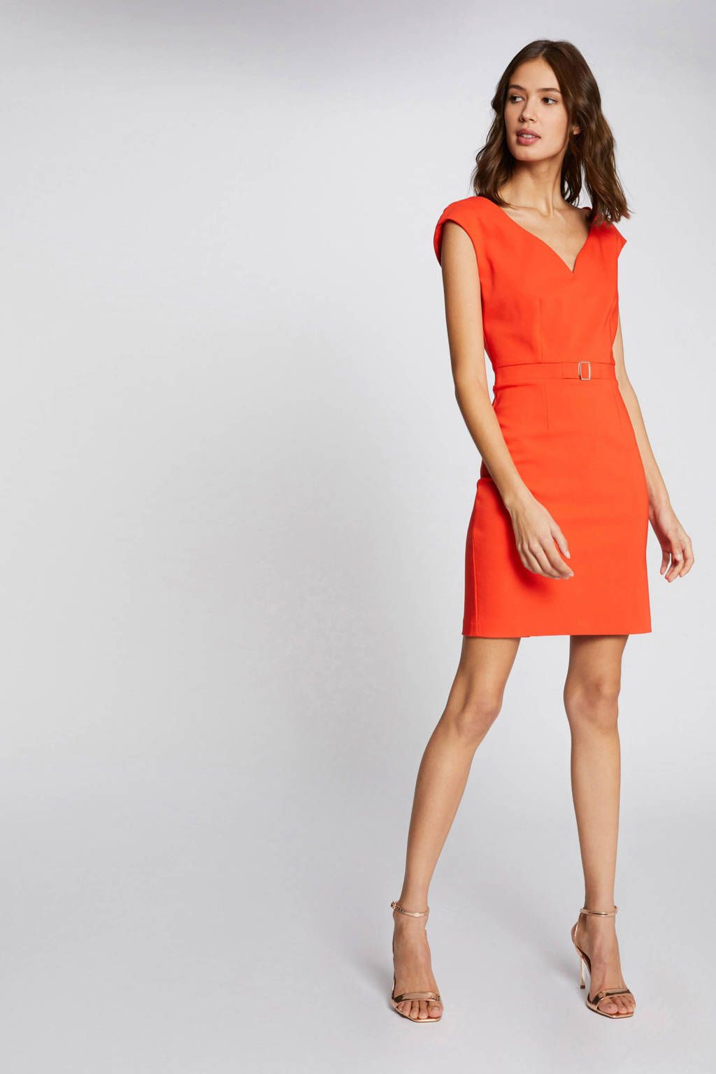 Morgan jurk oranje, Oranje