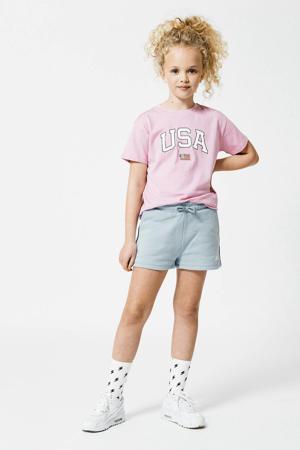 T-shirt Elly van biologisch katoen lila