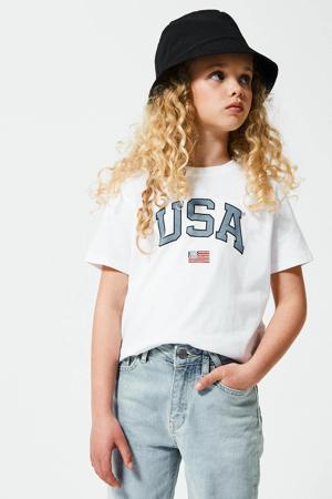 T-shirt Elly van biologisch katoen wit