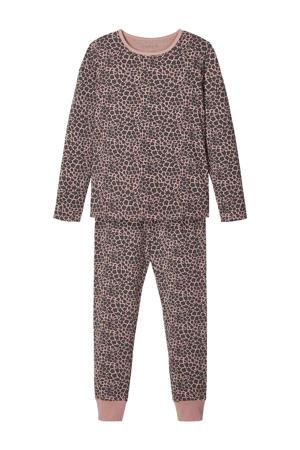pyjama met biologisch katoen roze